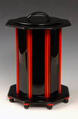 Black and Red Stringer Vessel